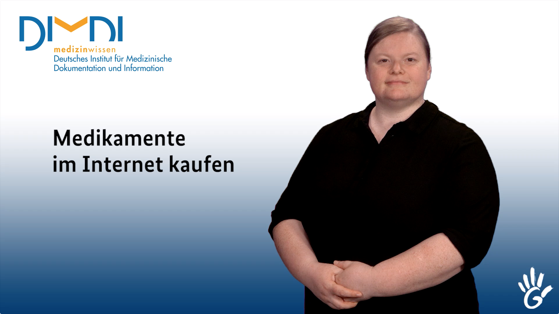Screenshot: Video Medikamente im Internet kaufen - Preview